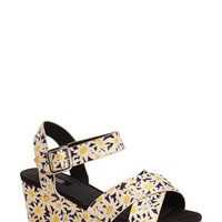 Women's Topshop 'Hippy' Platform Wedge Sandal,