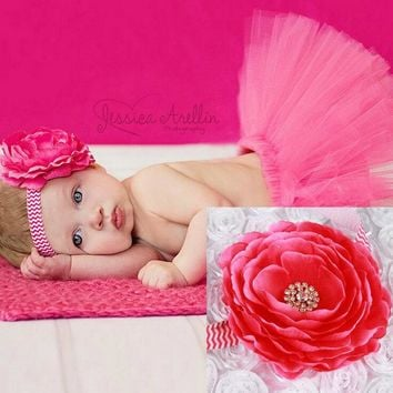 Baby Girl TUTU Skirts Flowers Headband Infants Skirts Suits Photography Ribbon Bow Ball Gown Girls Headband + Skirt  KD448