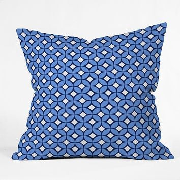 Caroline Okun Blueberry Throw Pillow