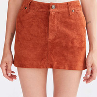 Cooperative Colette Suede Mini Skirt - Urban Outfitters