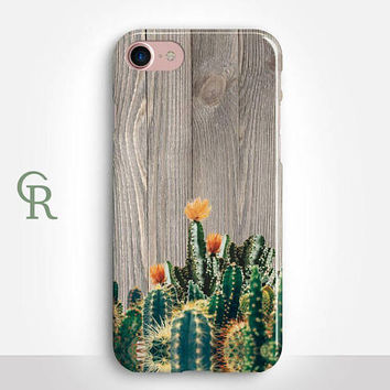 Cactus Phone Case For iPhone 8 iPhone 8 Plus - iPhone X - iPhone 7 Plus - iPhone 6 - iPhone 6S - iPhone SE - Samsung S8 - iPhone 5