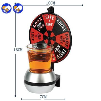 Spin The Shot Glass Roulette Drinking Game