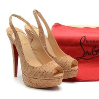 CL Christian Louboutin Fashion Heels Shoes-97