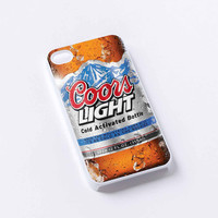 Coors Light iPhone 4/4S, 5/5S, 5C,6,6plus,and Samsung s3,s4,s5,s6