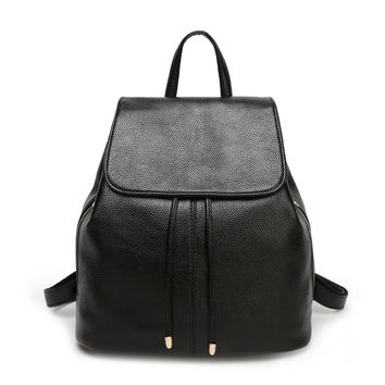 Women Classical Chic Backpack Vintage Bag On Sale = 4444671748