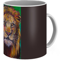 Lion Stare Coffee Mug for Sale by Kendall Kessler