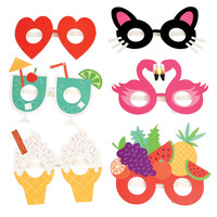 Paper Party Glasses (set Of 6)