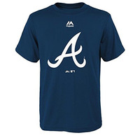 Atlanta Braves MLB Youth Primary Team Logo T-shirt (Youth XLarge 18/20)