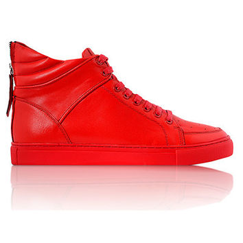Virtue Blood Red Sneakers