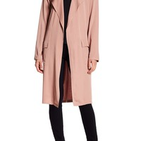 DR2 by Daniel Rainn | Draped Trench Coat | Nordstrom Rack
