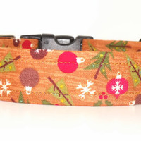 Ornament and Christmas Tree Dog Collar