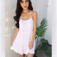 DANDELION DRESS- WHITE