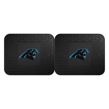 Carolina Panthers NFL Utility Mat (14x17)(2 Pack)