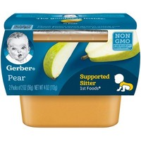 Gerber 1st Foods Baby Food Pear - 2oz (2ct)