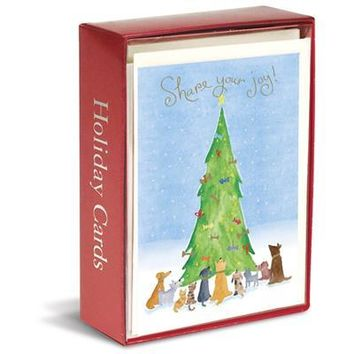 Share Your Joy Boxed Holiday Cards