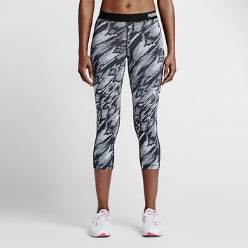 The Nike Pro Overdrive Women's Training Capris.