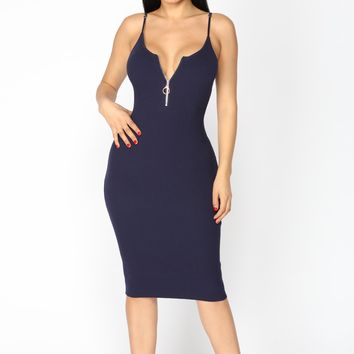 You're It Dress - Navy