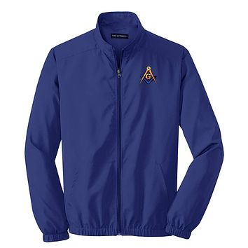 Logoz USA Mason Blue Lodge Masonic Jacket Custom Lodge Info