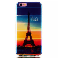Eiffel Tower Blue Light Case Cover for iPhone & Samsung Galaxy S6  Unique iPhone 6s Plus