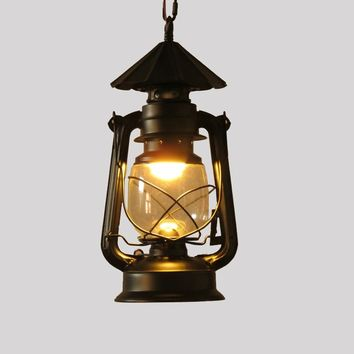 Barn Lantern nostalgic vintage pendant lights project light bar lamps fashion lighting & lamps E27 AC110-240V