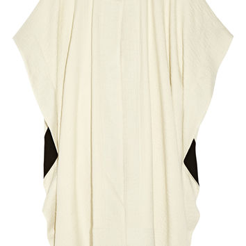 Issa - Innesse oversized textured wool-blend cape