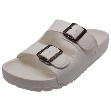 Pali Hawaii Jandals with Buckle White Jesus Hawaiian Sandal