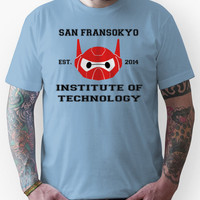 San Fransokyo Campus Logo - Big Hero 6 Unisex T-Shirt