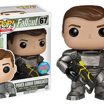 Fallout - Power Armor Unmasked NYCC Exclusive Pop Vinyl Figure