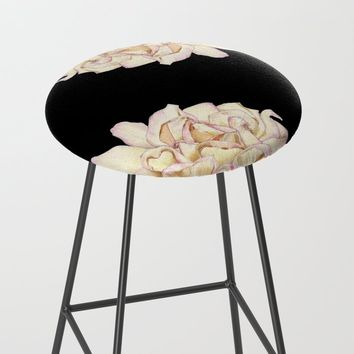 Roses - Lights the Dark Bar Stool by drawingsbylam