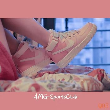 HCXX 19Nov 169 Nike Air Force 1 High Utility Force is Female CQ4810-621 Monk Strap Women Sneakers Fashion Casual Skate Shoes