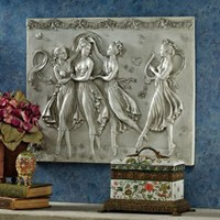 Wall Art | Three Graces Dancing Wall Sculpture