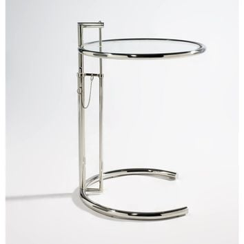 E1027 Side Table - Stainless Steel - Reproduction | GFURN