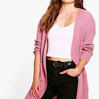 Molly Cardigan With Pockets & Side Split