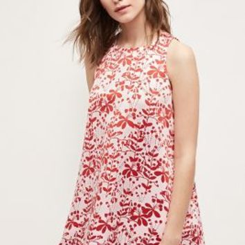 Cynthia Rowley Chestnut Hill Swing Dress in Red Motif Size: