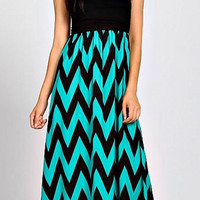 Enchanted Evening Maxi Strapless Dress - Jade