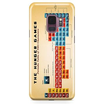 A Periodic Table For The Hunger Games Samsung Galaxy S9 Case   Casefantasy