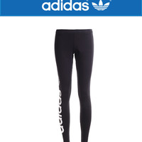 """Adidas"" Fashion Casual Clover Letter Print Women Sweatpants Yoga Pants Leggings Long Pants"