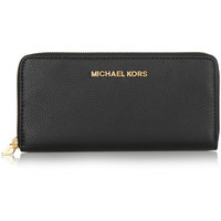 MICHAEL Michael Kors - Bedford textured-leather continental wallet