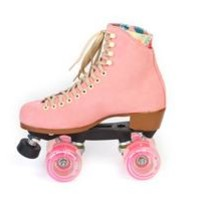 Lolly Roller Skates - Strawberry Pink