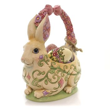 Jim Shore Honey Of A Bunny Easter & Spring Figurine