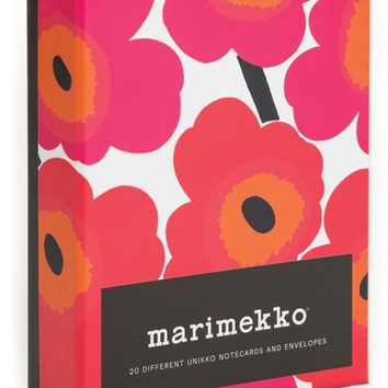 Chronicle Books Marimekko 20-Pack Note Cards | Nordstrom
