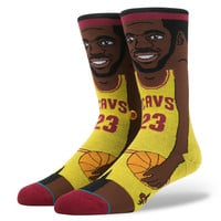 STANCE - LEBRON JAMES