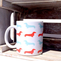 Coffee Mug: Dachshunds