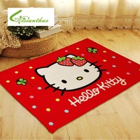 Hello Kitty Strawberry Rug