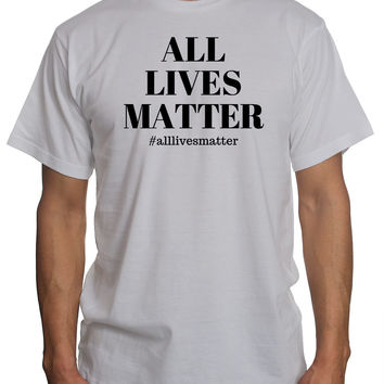 All Lives Matter Blk Txt