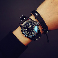 Cool Sports Silicone Watch Unique Simple Watches + Gift Box-472