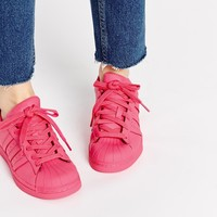 Adidas Originals Pharrell Williams Supercolour Semi Solar Pink Trainers