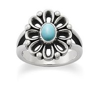 De Flores Ring with Turquoise | James Avery