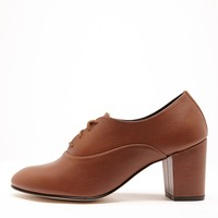 bobbyh - High Heel Bobby Leather Lace-Up Shoe