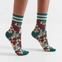 Out From Under Varsity Striped Sock | Urban Outfitters